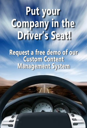 SalzMedia - Put your company in the drivers seat with a custom content managed website!